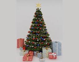 interior 3D Christmas tree