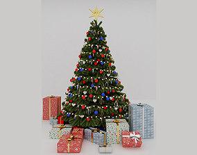 interior 3D Christmas tree