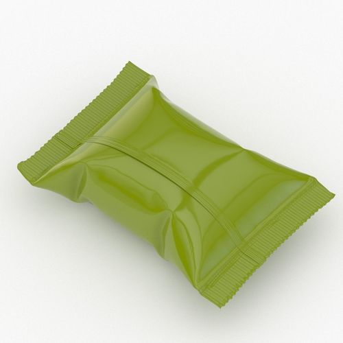 candy wrapper v4  3d model max obj mtl 3ds fbx stl 1