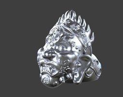 3D printable model Tibetan Ring