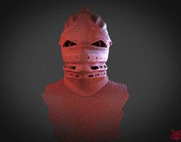 Demons Souls Helmet 3D print model