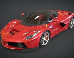 3D Ferrari LaFerrari F150 2014
