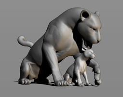 Leopards 3D printable model