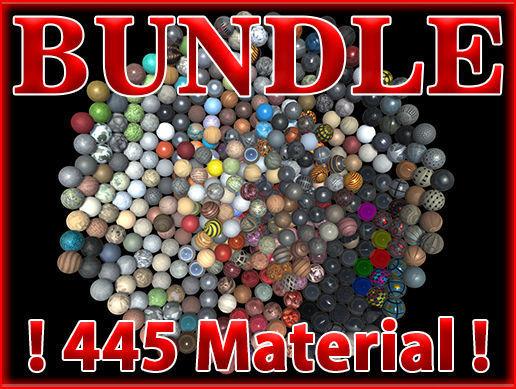 PBR Material Bundle Vol1 - 445 Material
