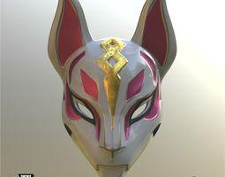 Kitsune Mask 3D printable model
