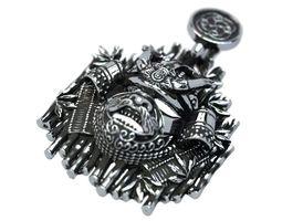 3D print model Samurai helmet pendant