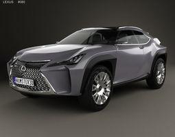 Lexus UX 2016 3D