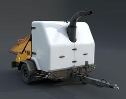 Shredder 3D model