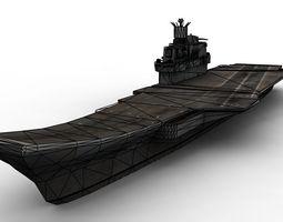 3D asset Kuznestov Russian Carrier