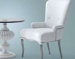 Ferretti Morfeo Chair SE 3D model