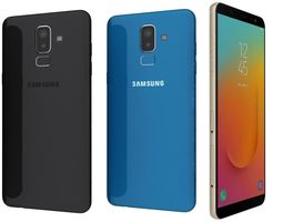 Samsung Galaxy J8 On8 All Colors 3D model