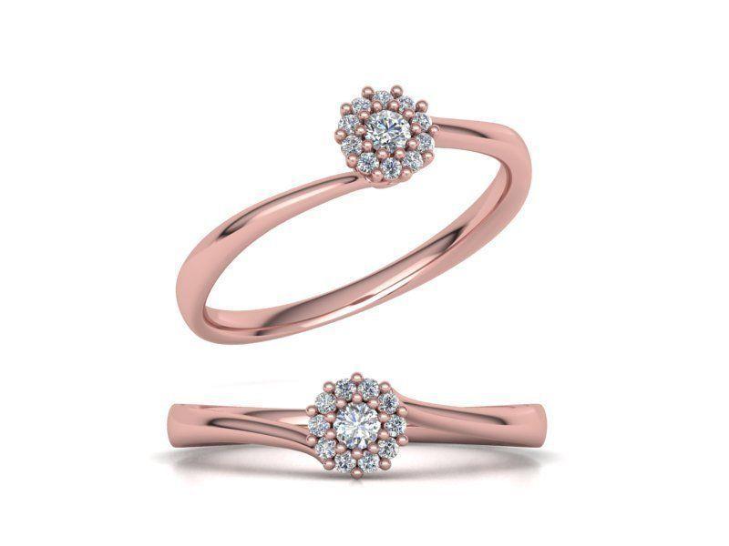 Engagement ring Own design Paradise V2 122 MANY SIZES