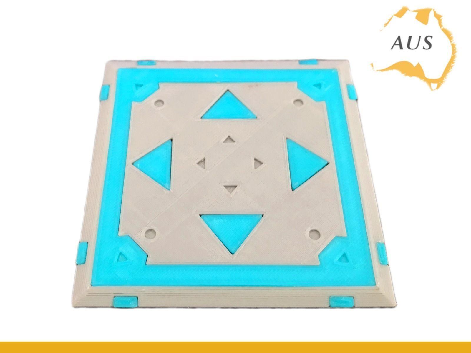 fortnite bounce pad drink coaster prop xbox ps4 3d model stl 3 - miniature fortnite 3d xbox