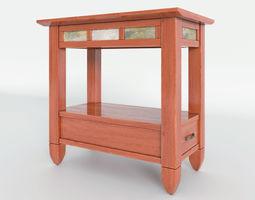 Atkinson End Table 3D model