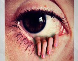 3D model Canvas Art Horror Eye