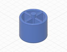 3D print model Replacement centre Piece for tape holder