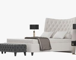 berenice 3D model BERENICE Bed By Opera Contemporary