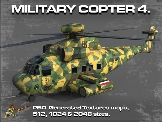 MILITARY COPTER 4