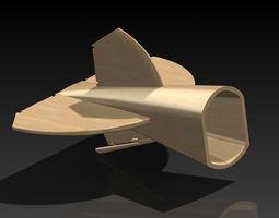 Albatros d2 02 part 3D model