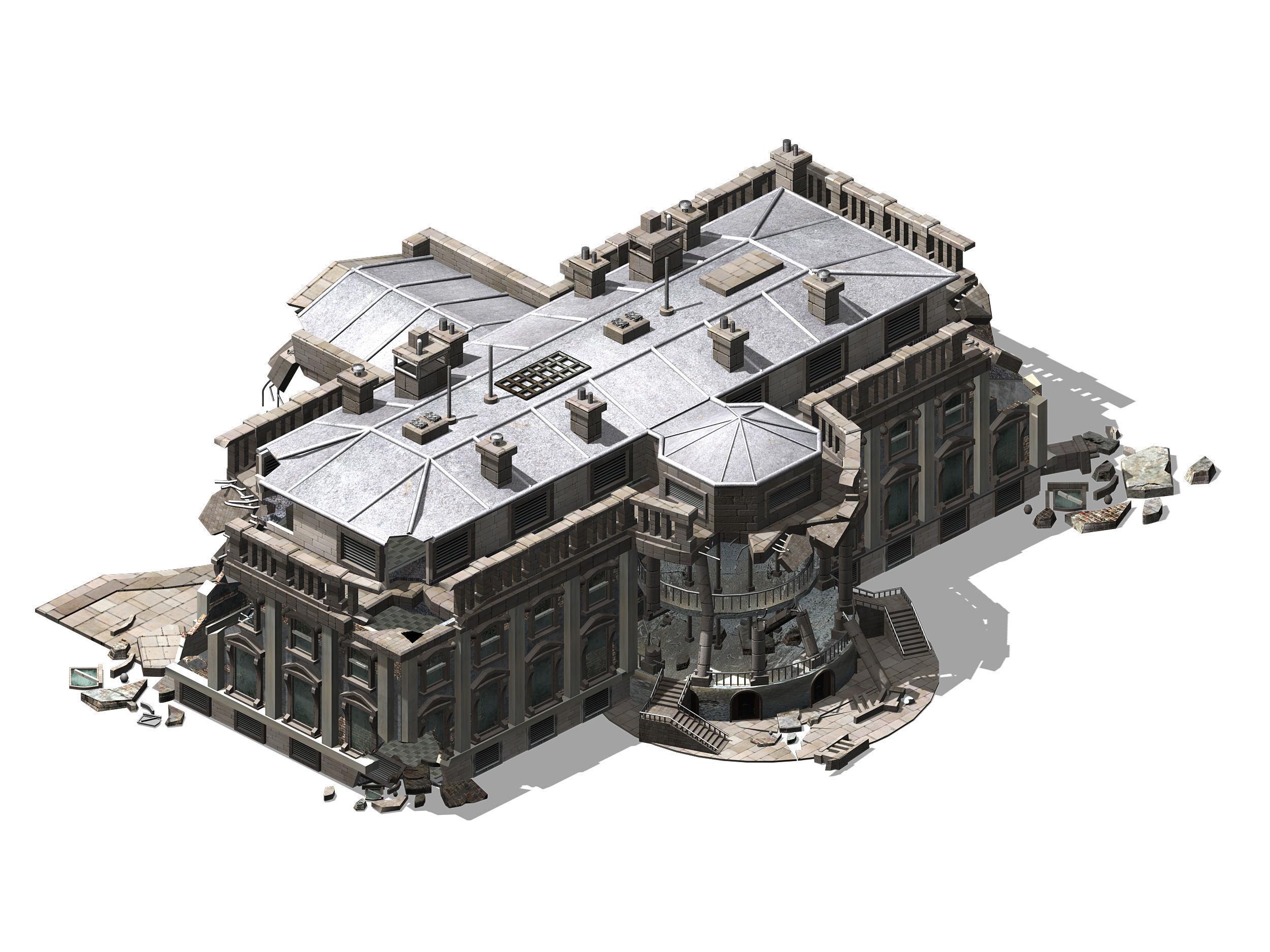 Different dimension - architecture - ruins 05