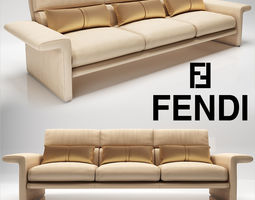 3D Fendi Dream Fly Sofa
