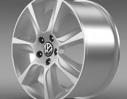 VW Polo Sedan rim 3D model