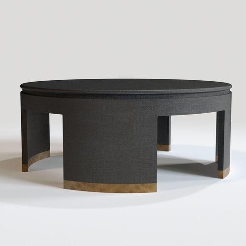 Bernhardt Dubois Round Tail Table Model Max Obj Mtl Fbx 1
