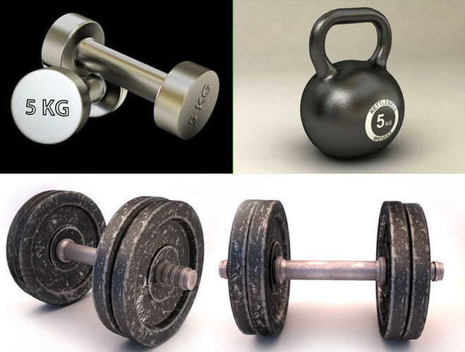 gym equipment  3d model max obj mtl 3ds tga 1