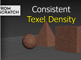 3D Texturing : 3 ways to keep a consistent Texel Density