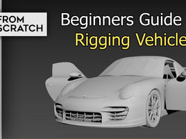 3D Animation : Beginners guide for Rigging a Vehicle
