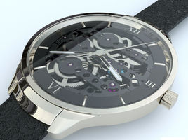 Video review of creating mechanical watches