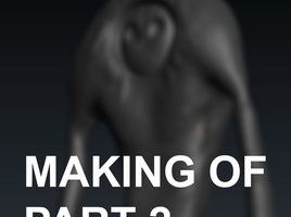 3D-Coat. Making of creature and render it in Corona Renderer. Part 2.