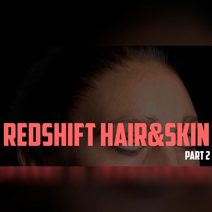 Redshift hair settings  Part 2 | CGTrader