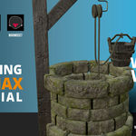 3dsMax | Modeling the Water Well