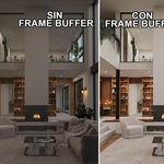 Como configurar el Corona Frame Buffer