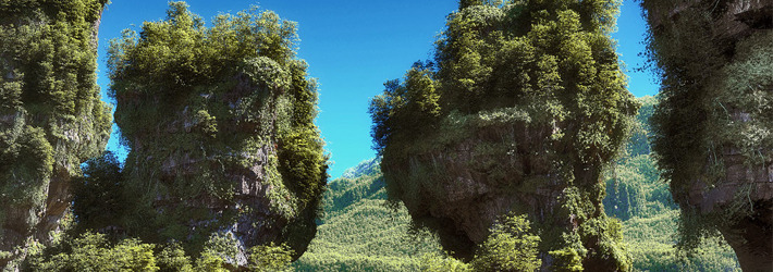 25 Photorealistic Landscape 3D Renderings: If Only Those Places Existed