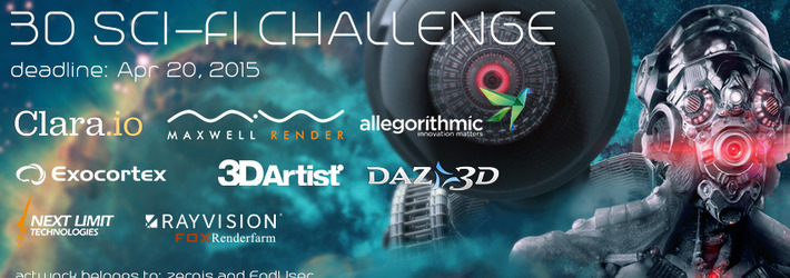 CG Sci-Fi Challenge: Triggering and Exploring Future Worlds