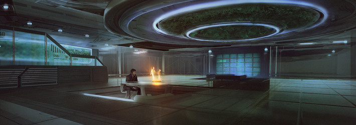 Didier Konings: Marrying Movies To Matte Painting