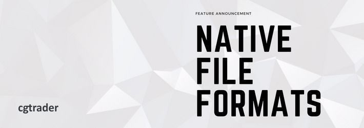 New setting in the publisher: native format