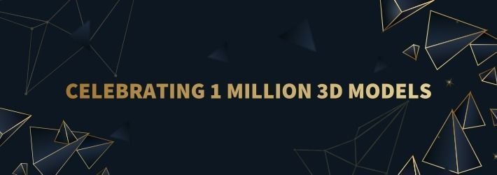 One Millionth 3D Model Uploaded to CGTrader! + Infographic